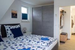 Schlafzimmer Richtung Flur